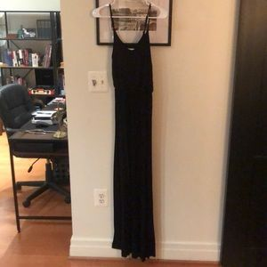 Black maxi dress from Nordstrom